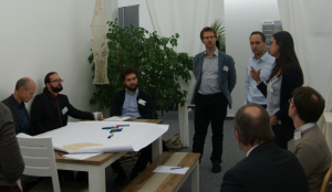 "ProDok 4.0 Industriebeirat 2016 World-Café Thementisch ""Change Management in der Wissenskultur"""